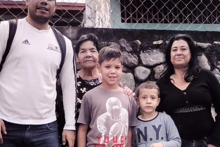 Familie in Venezuela